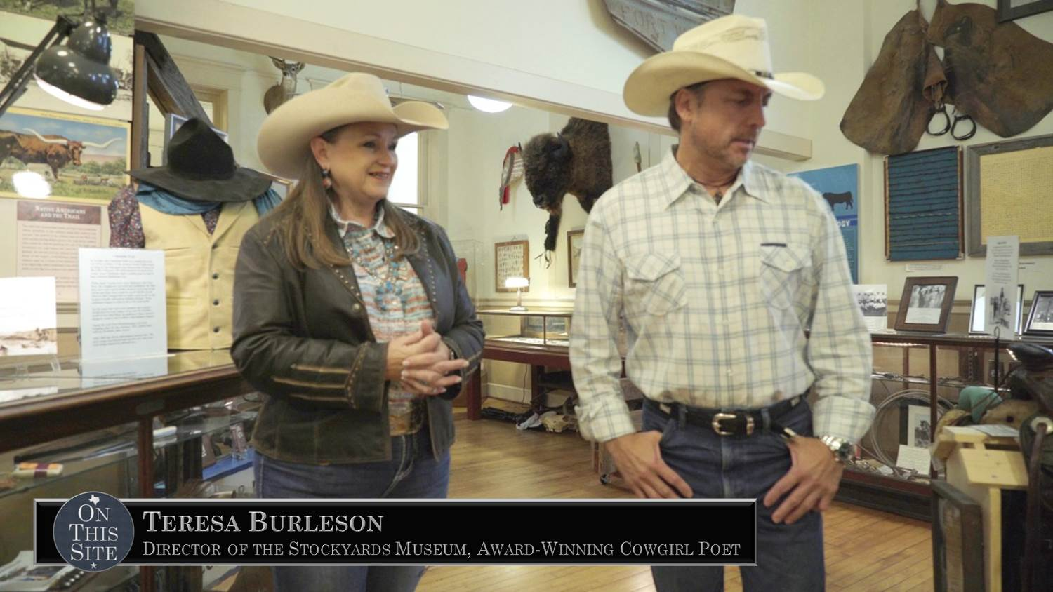 Teresa Burleson - Director of Stockyards Museum and Cowgirl Poet