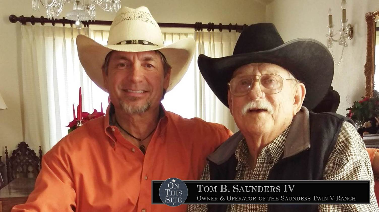 Tom B Saunders IV and Lance Eakright