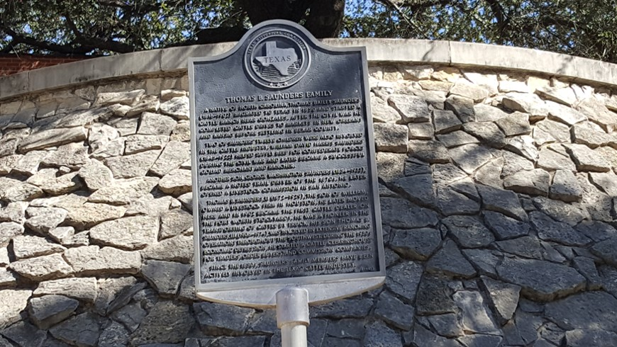 Texas History, Fort Worth Historic Stockyards, Thomas B Saunders Family Legacy